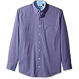 IZOD Men's Tall Advantage Performance Stretch Long Sleeve Shirt, Violet Tulip, 3X-Large Big