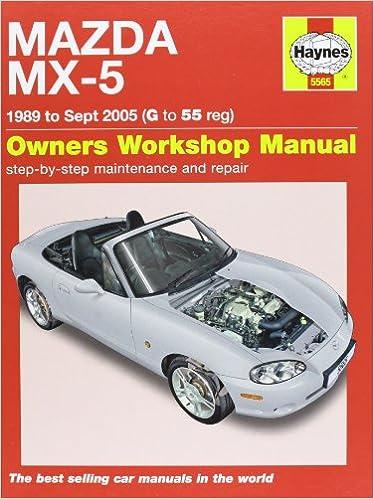 Werkstatthandbuch 6368 Neu 55-15 Haynes Mazda MX-5 MX5 Mk3 Mkiii ...