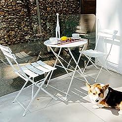 White Wicker Patio Furniture