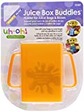 Mommys Helper Juice Box Buddies Holder for Juice Bags and Boxes, Colors May Vary