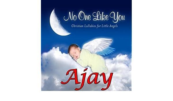 Ajay, I Love You So (A J, A J , AJ, A-J) by Personalized Kid