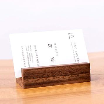 Visitenkartenhalter Aus Holz Für Grußkarten Kreditkarten