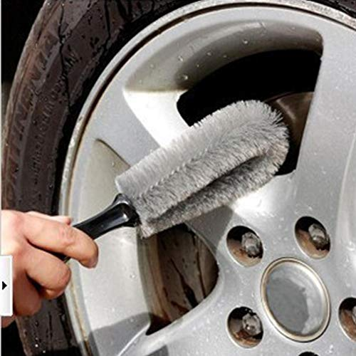Car wheel special cleaning brush single head wheel anti-free