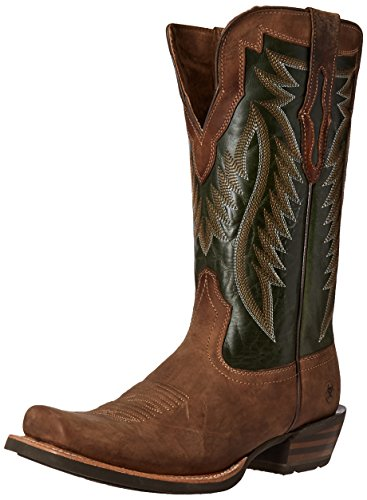 Lime Branding Iron Mens futurity Ariat Neon Boot Western Cowboy Tan nqAFw4WS