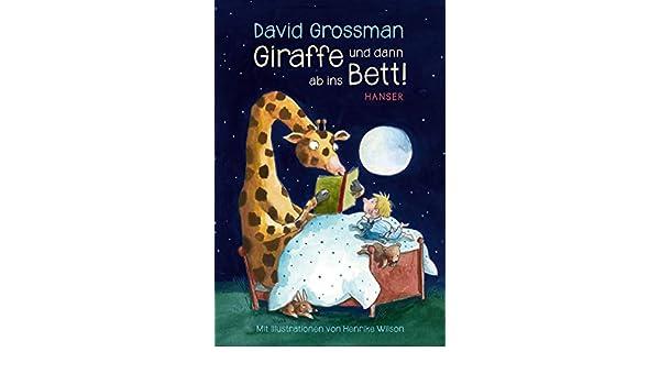Giraffe Und Dann Ab Ins Bett Geschichten Zur Guten Nacht