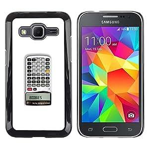 MOBMART Slim Sleek Hard Back Case Cover Armor Shell FOR Samsung Galaxy Core Prime - Calculator