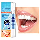 Teeth Whitening Pen, Safe 35% Carbamide Peroxide Gel, 20+ Uses, Painless, No Sensitivity, Easy to Use, Natural Mint Flavor