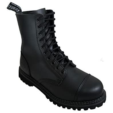 Chaussures Grinders noires homme QWrcy5p5sG