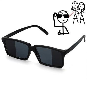 WWVAVA Gafas de Fiesta para Ver Detrás de espías Gafas de Sol ...