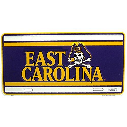 Signs 4 Fun SL2094 East Carolina Univ. License Plate