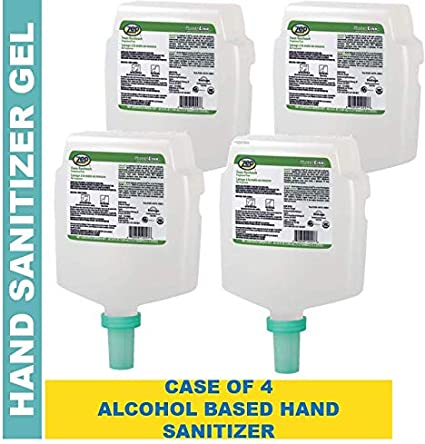 Amazon Com Zep Fuzion Instant Hand Sanitizer Gel Refill 124616