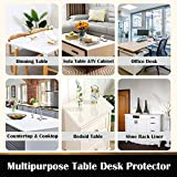 36 in Square Clear Vinyl Table Protector