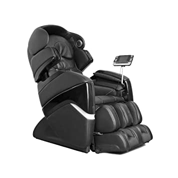 Osaki OS 3D Pro Cyber C Zero Gravity Massage Chair, Cream, Hide Away