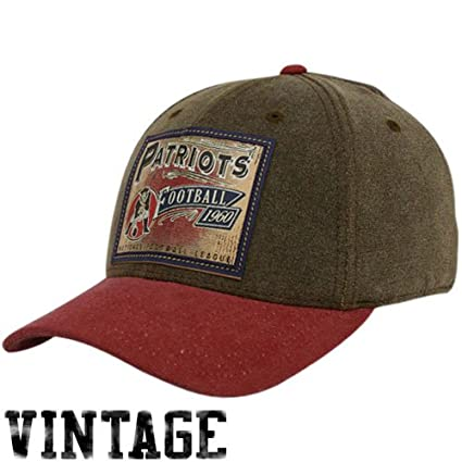Image Unavailable. Image not available for. Color  Reebok New England  Patriots Brown Pro Shape Flex Hat ... c061f3b76