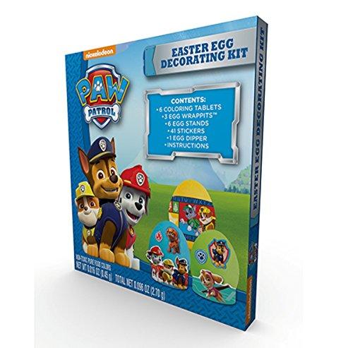 Nickelodeon Paw Patrol Easter Egg Decorating Kit