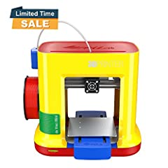 The da Vinci miniMaker is the perfect desktop 3D printer for beginners. Its lightweight and compact design fits easily in tight places, and it boasts a 5.9 x 5.9 x 5.9 inch print bed. It has an auto-leveling bed and auto-calibrating extruder ...