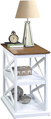 Convenience Concepts Oxford Deluxe 3-Tier End Table - the best living room table for the money