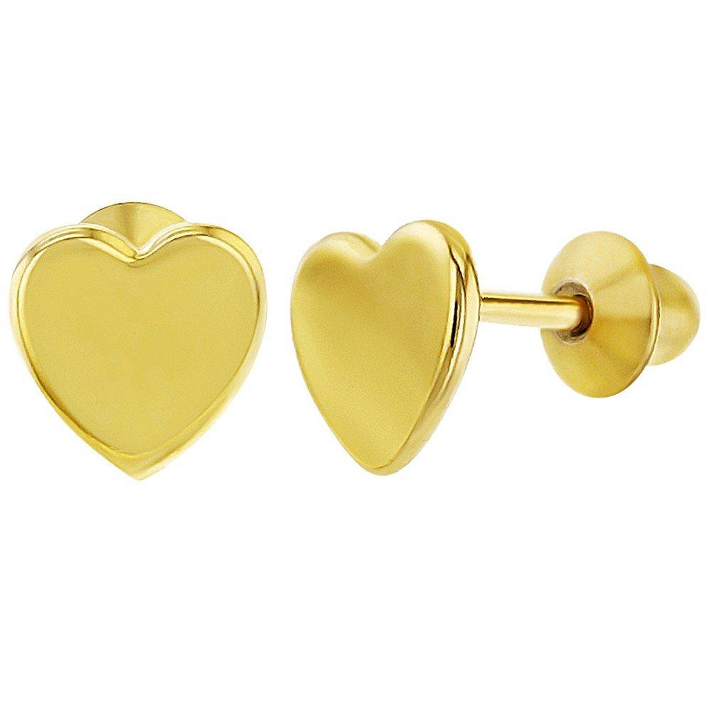 Enfants Cœur Boucles d'oreilles In Season Jewelry Simple Petit Argent 925//1000