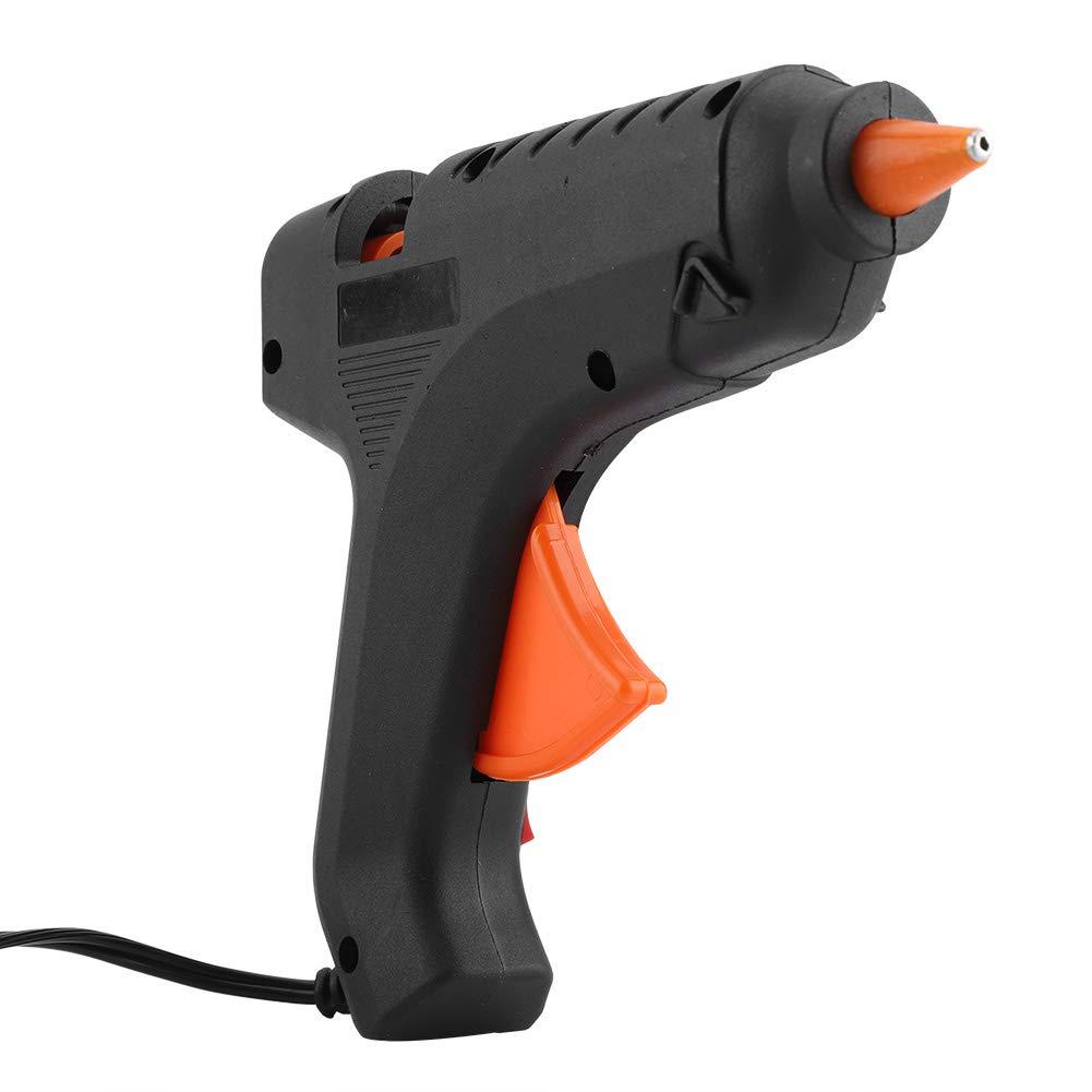 Kit di Riparazione Nero con 5 Stick di Colla Fdit Mini Pistola per Colla a Caldo 40 W Fai da Te per Riparazione ammaccature Auto