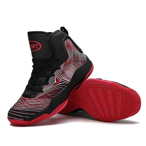 Top Scarpe Elaphurus Uomo Sneaker Hi rosso 2 Basket da qXdFxwprd