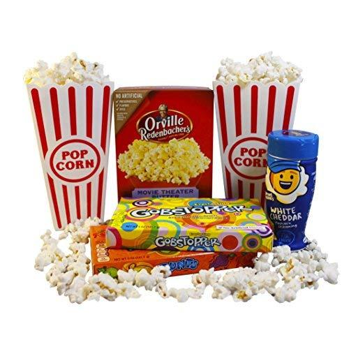 Sweet Treats Movie Night Popcorn & Candy Gift -