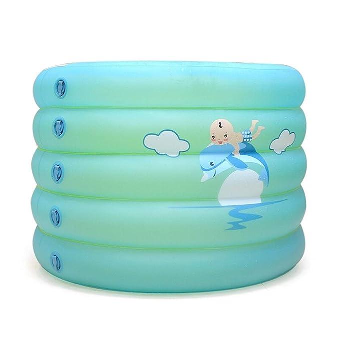 W&NR Bañera Inflable for niños Aislamiento de Engrosamiento ...
