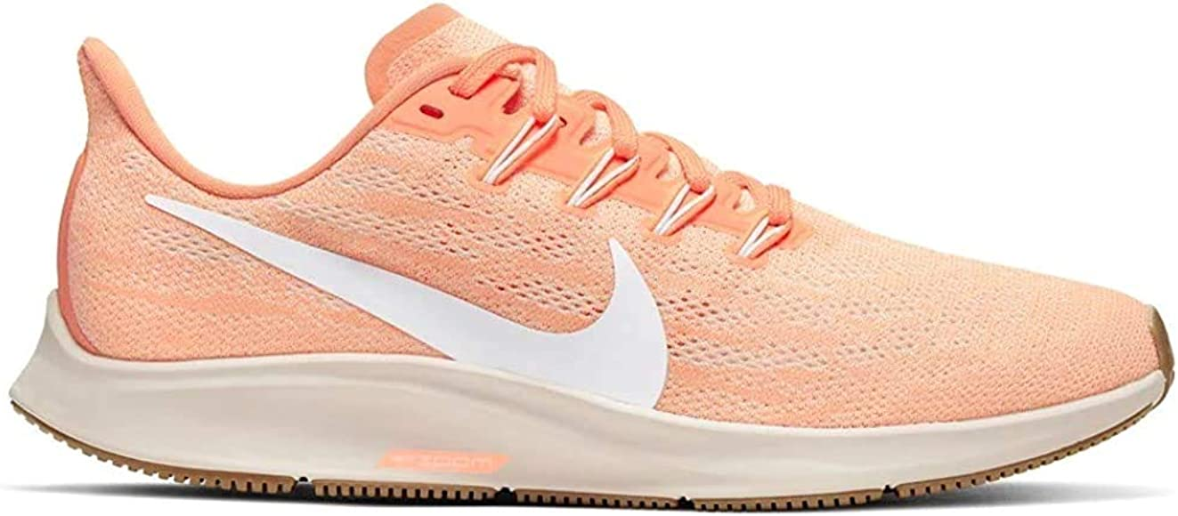 Nike Air Zoom Pegasus 36, Zapatillas de Atletismo para Mujer, Multicolor (Orange Pulse/White/Guava Ice 800), 38.5 EU: Amazon.es: Zapatos y complementos