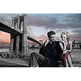 PopArtUK - Póster maxi con Marilyn y James Dean de Chris Consani (91,5 x 61 cm)