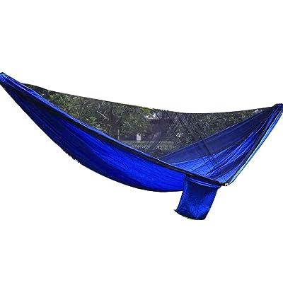 1-2 Personne moustiquaire Hamac Intérieur camping en plein air Parachute Tissu couchage Tente Randonnée Lit Hanging Portable LUFA
