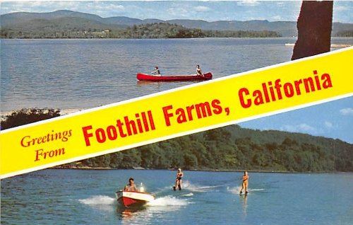 Foothill Farms, California Postcard ()