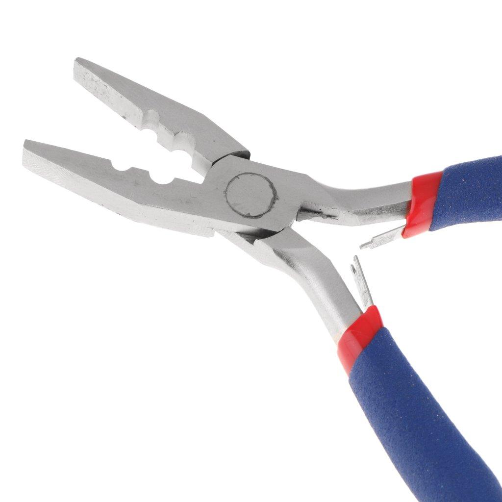 Sharplace Profesioanl Alicates para Extensiones de Cabello de Material de Aleación de Níquel y Hierro: Amazon.es: Belleza