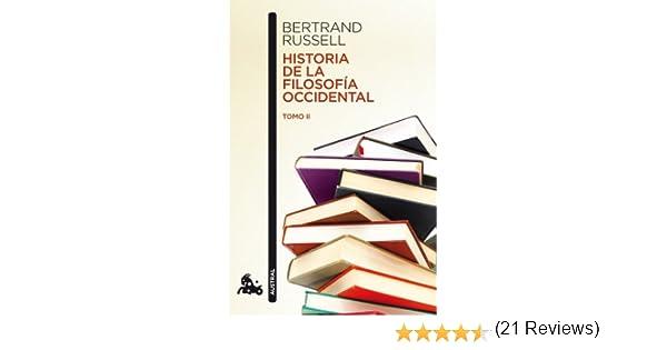 Historia de la filosofía occidental II Contemporánea: Amazon.es: Russell, Bertrand, Gómez de la Serna, Julio, Dorta Martín, Antonio: Libros