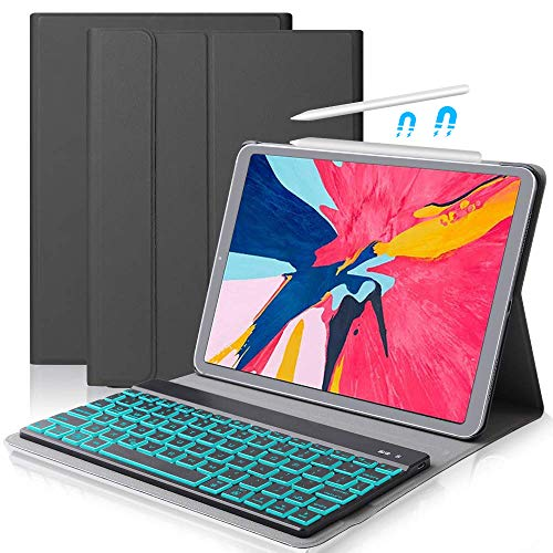iPad 11 Keyboard Case for 2018 Dingrich iPad Pro 11 inch Stand Case with Keyboard Auto Sleep  Wake