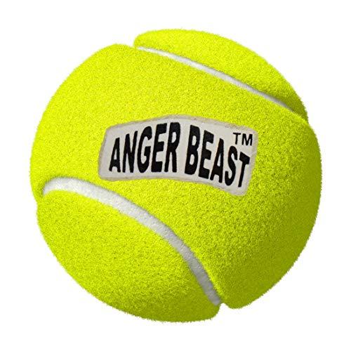 Anger Beast Cricket Tennis Rubber Balls  Yellow
