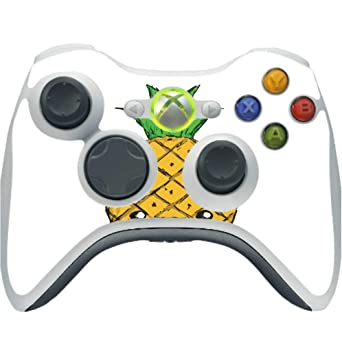 Amazon Com Animated Happy Pineapple Design Vinyl Decal Sticker Skin By Egeek Amz For Xbox 360 Wireless Controller Video Games