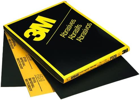3M 02041 Imperial Wetordry 9 x 11 P280A Grit Sheet