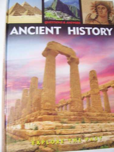 Questions & Answers Educational Hardcover Books ~ Ancient History (2008; Ancient Ruins Cover)