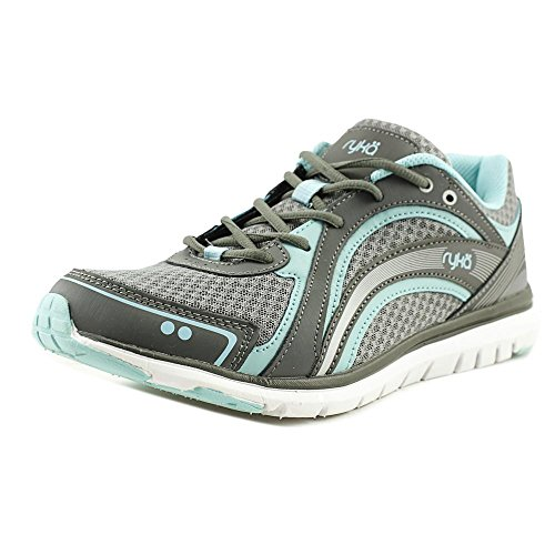 Ryka Womens Aries Walking Shoe,Frost Grey/Aqua Sky/Iron Grey,US 8.5 M