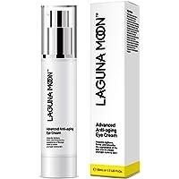 Lagunamoon Anti Aging Eye Cream for Dark Circles,Puffiness,Wrinkes,Eye Bag,Used Around and Under Eyes-1.7 FL Oz.