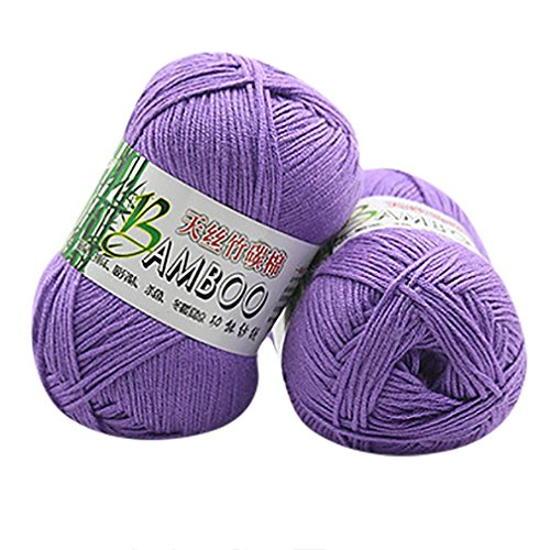 Makaor Wool Yarn Cotton Soft Warm Yarn For Hand Knitting Crochet (Unit skein Weight: 50g per skein, (Alphabet Cotton Crib)