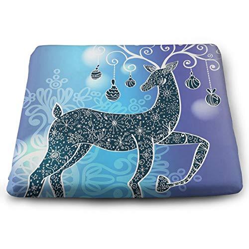 Comfortable Seat Cushion Chair Pad Line Deer Perfect Memory Foam Cushions Lighten The Bumps ()