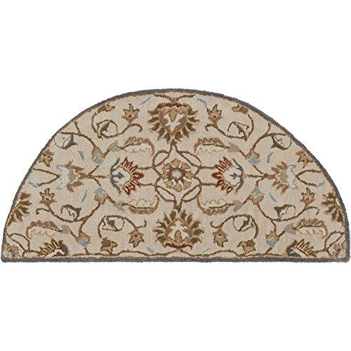 - Surya Caesar CAE-1118 Hand Tufted Wool Hearth Classic Accent Rug, 2-Feet by 4-Feet
