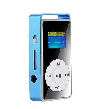 OLPvh Reproductor de mp3 Reproductor de MP3 Digital Pantalla ...