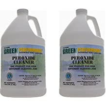 Flo-Kem GP107 All Purpose Peroxide Cleaner with Citrus Fragrance, 1 Gallon Bottle, Clear