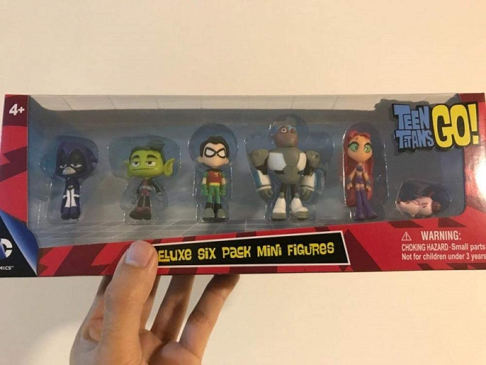 Teen Titans Go Jouet De Poup/ée Crow Robin D/écoration Mod/èle FYH Shop Chiffres Jouet Cake Topper Hand-Made Model Cadeau pour Enfants,Bo/îte Teen Titans