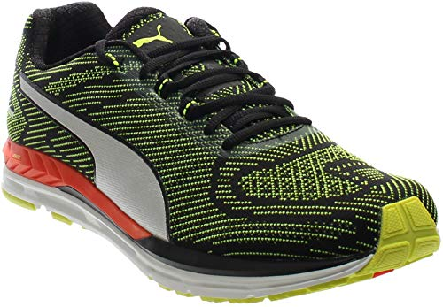 Puma Speed 600 S Ignite Mens Black Textile Athletic Lace Up Running Shoes 9.5 (Mens Puma Mesh Running Shoe)