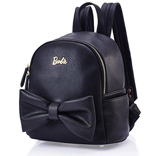 Barbie Bolsos Mujeres Bolso de Vintage Bolso de hombro para mujer Bolso escolar Bolso de Lazo para chicas 5