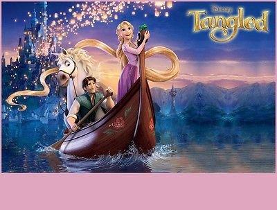 sdore Disney enredados Rapunzel y Flynn Rider Max cumpleaños ...