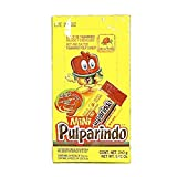 De La Rosa Mini Pulparindo Hot & Salted Tamarind Pulp Candy - 24 Pieces (2 Pack)