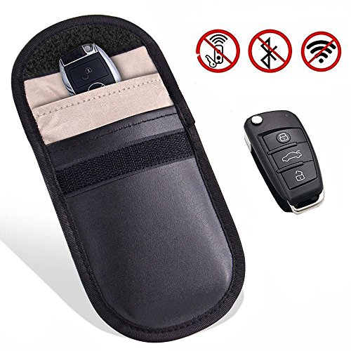 - Car Key Signal Blocker Case,Faraday Bag Key Fob Guard Protector for Wireless Car Keys GPS Rfid Signal Blocking Pouch,Cell Phone Privacy Protection Car Keyless Entry WIFI RF GSM LTE NFC RF Blocker